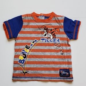 Disney Tiger Striped TShirt 18-24 Months